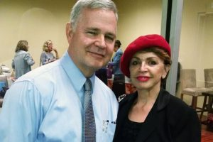 Gloria Brennan and Dr. Whipps